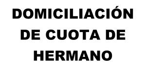 CUOTA DE HERMANO